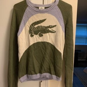 Vintage Lacoste Sport Alligator Logo Sweater